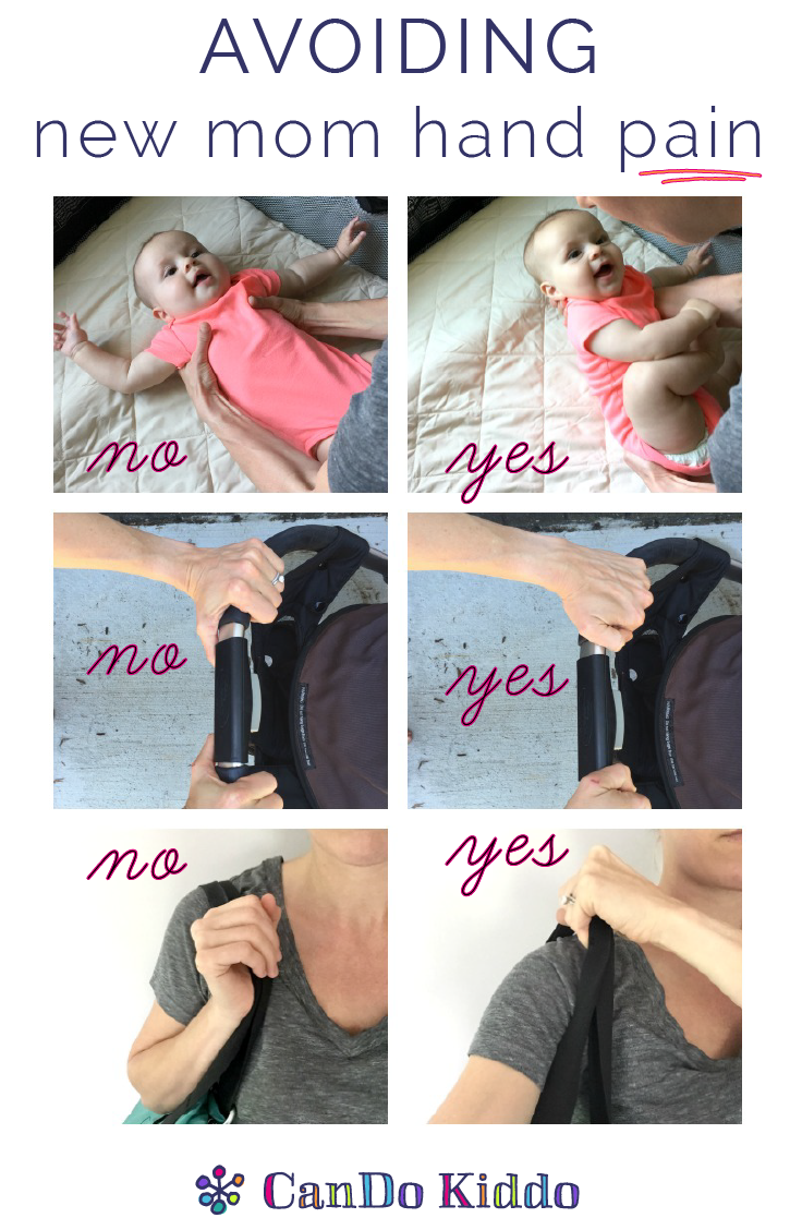 Simple changes to make a big impact on your hand pain. www.CanDoKiddo.com