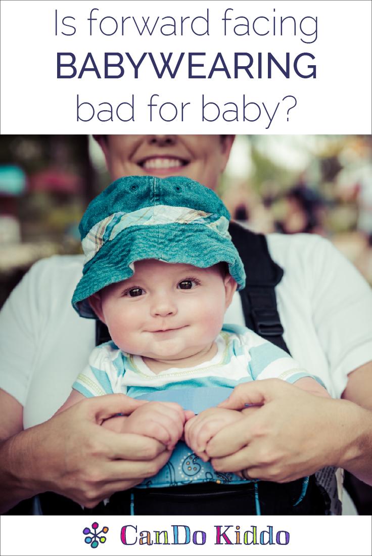 Tips for safe babywearing. www.CanDoKiddo.com