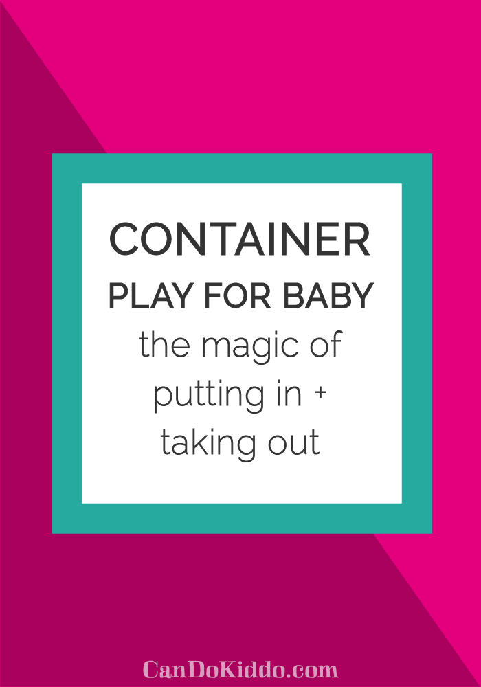 Simple developmental fun for babies from www.CanDoKiddo.com