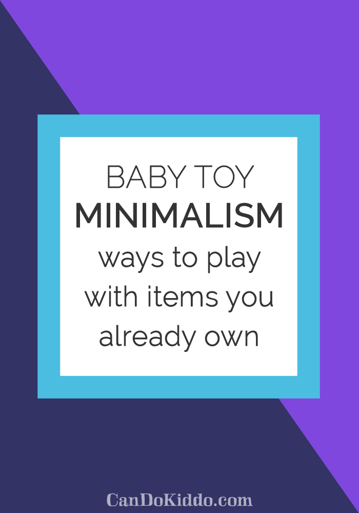 Simple baby play with household items. CanDoKiddo.com