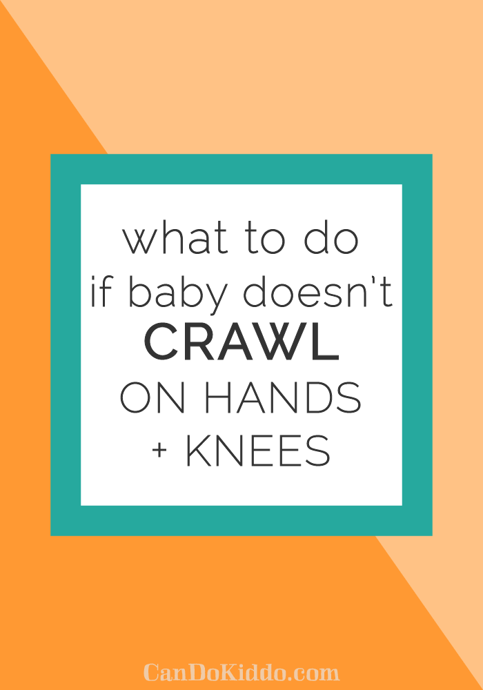 Tips from a pediatric OT for helping a baby crawl. CanDoKiddo.com