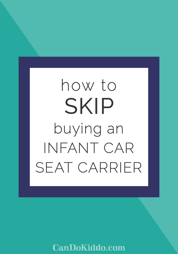 Tips for using a convertible car seat with a newborn. CanDoKiddo.com