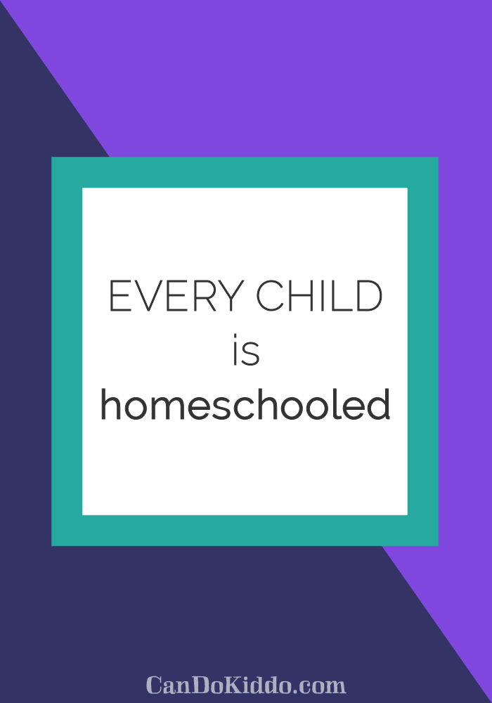 embracing your role as your childs first teacher. CanDoKiddo.com