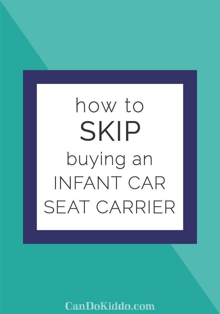 skip infant car seat carrier