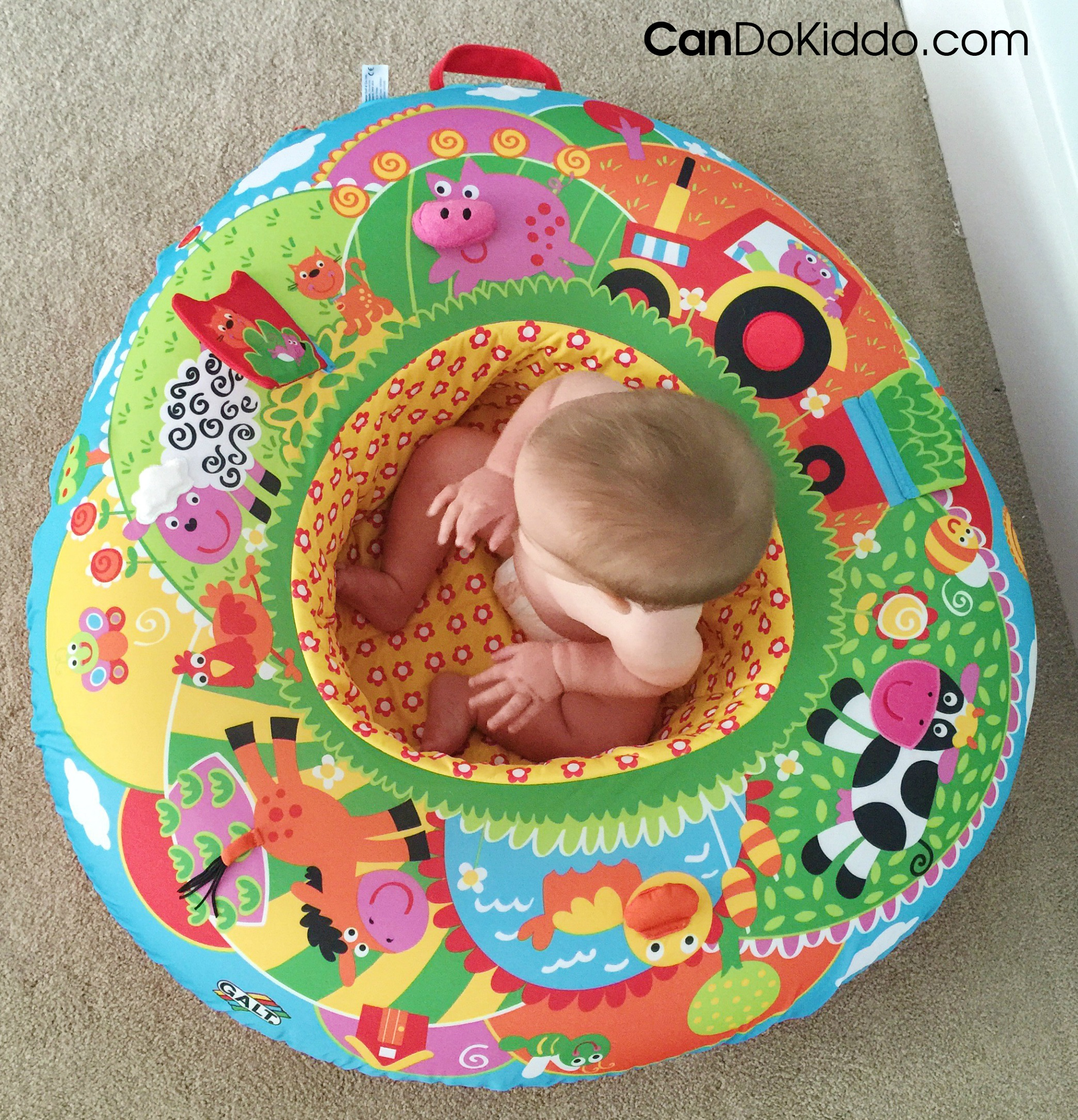 A great choice for a baby seat. CanDoKiddo.com