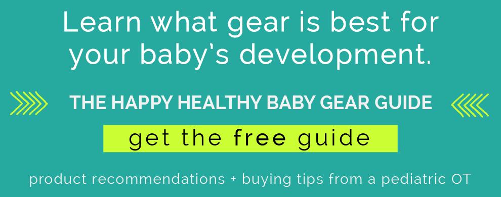 Happy healthy baby gear guide. CanDoKiddo.com