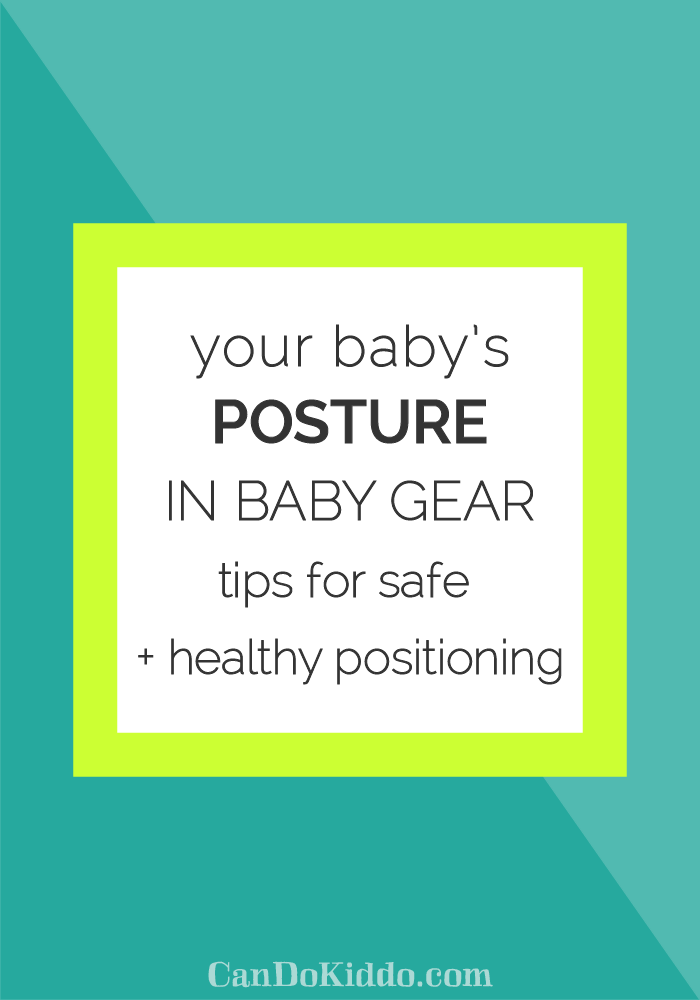 baby posture in baby gear