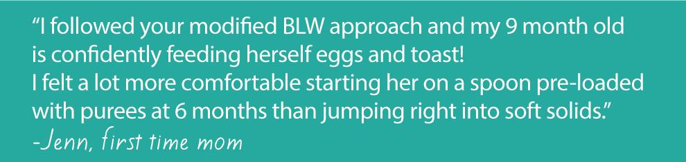 modified BLW approach
