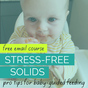 tips for starting solids the best way