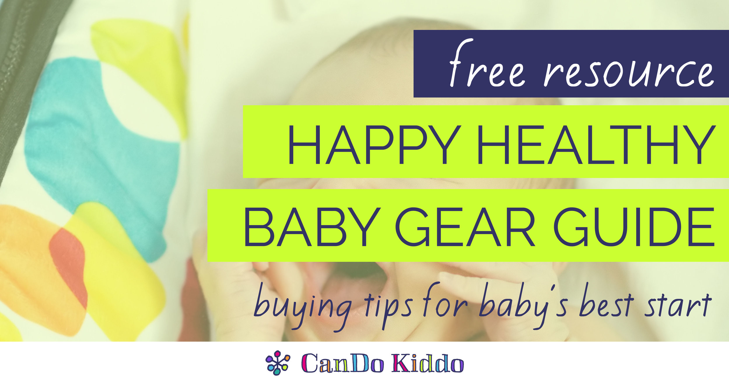 baby gear guide - baby registry tips