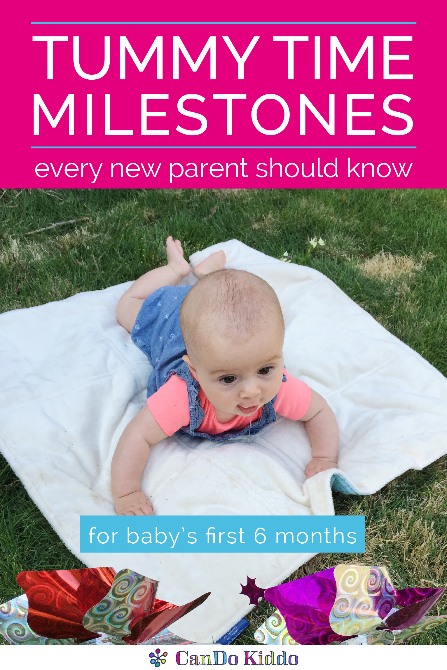 Tummy Time Milestones and Tips