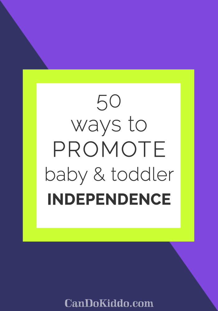 Promote Baby & Toddler Play www.candokiddo.com