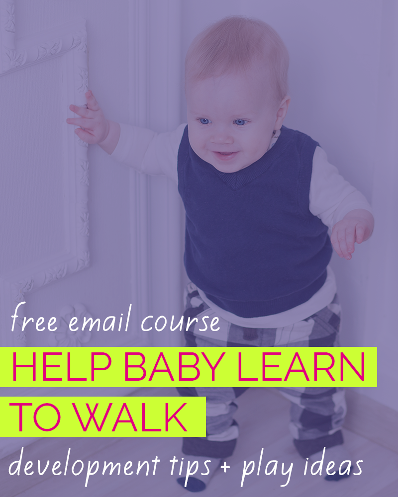 Help Baby Learn To Walk