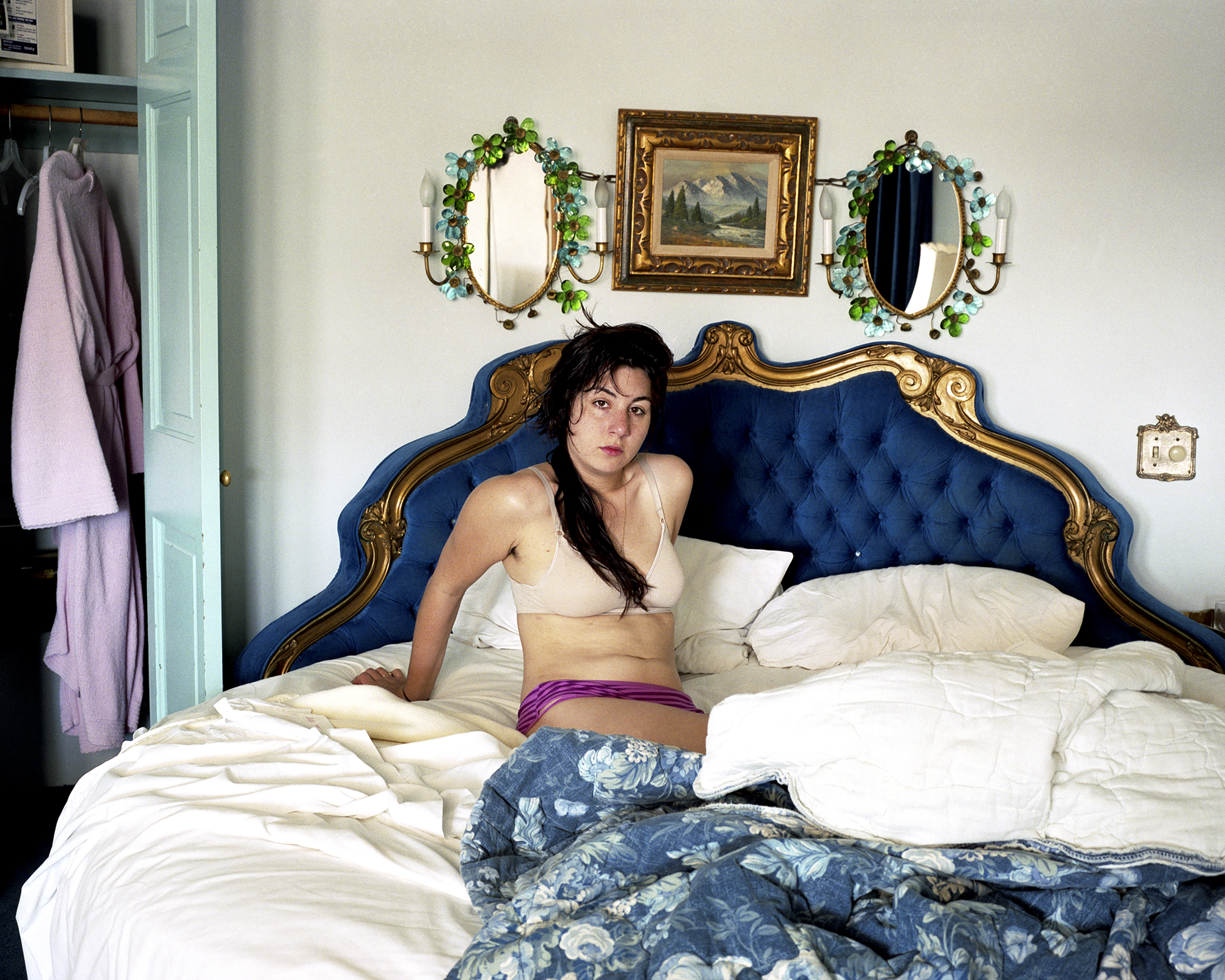 Alexis in a Round Bed.jpg