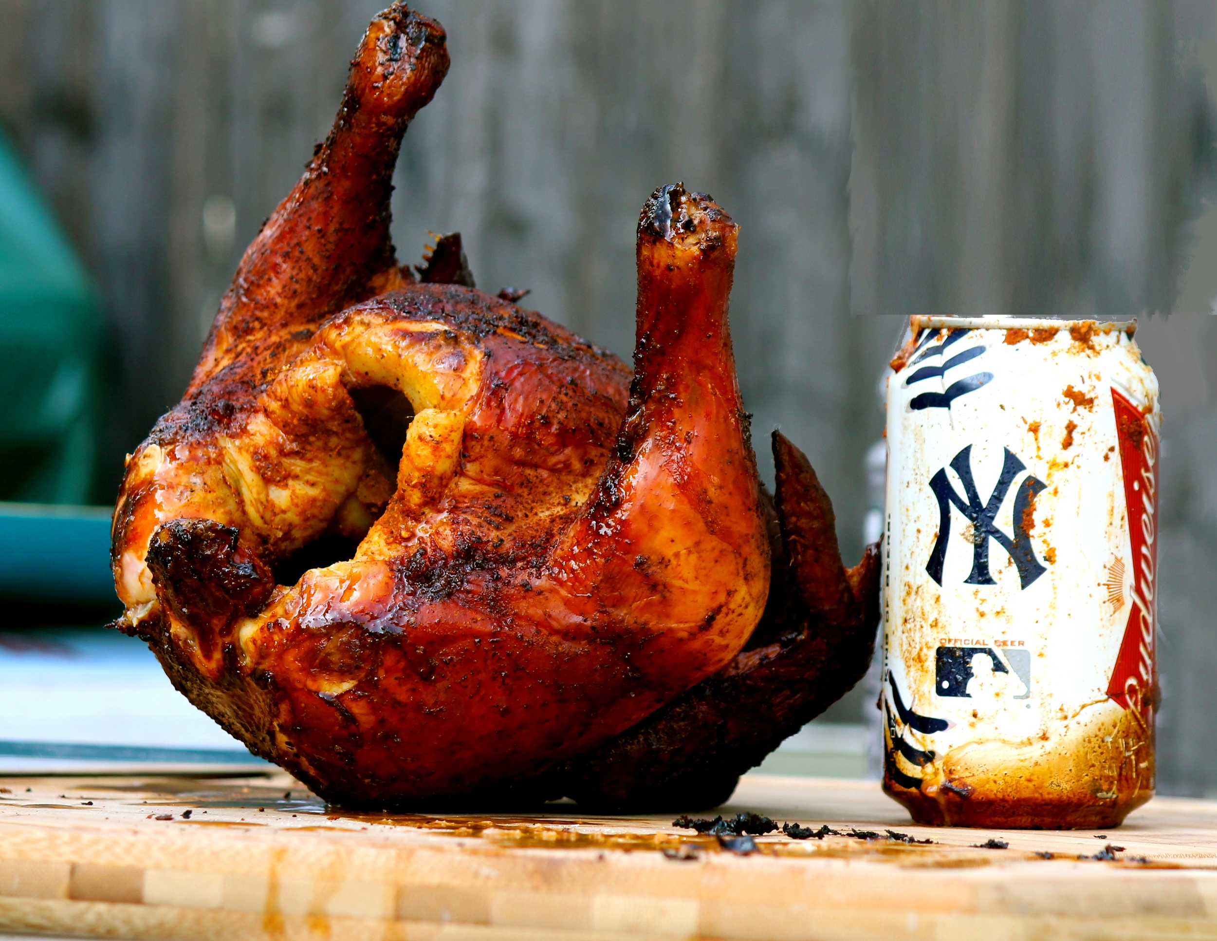 Beer Can Chicken 2