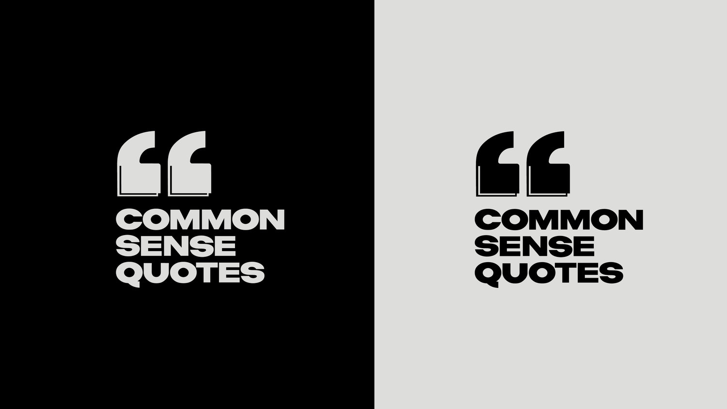 Common Sense Quotes — Brianna DiFelice