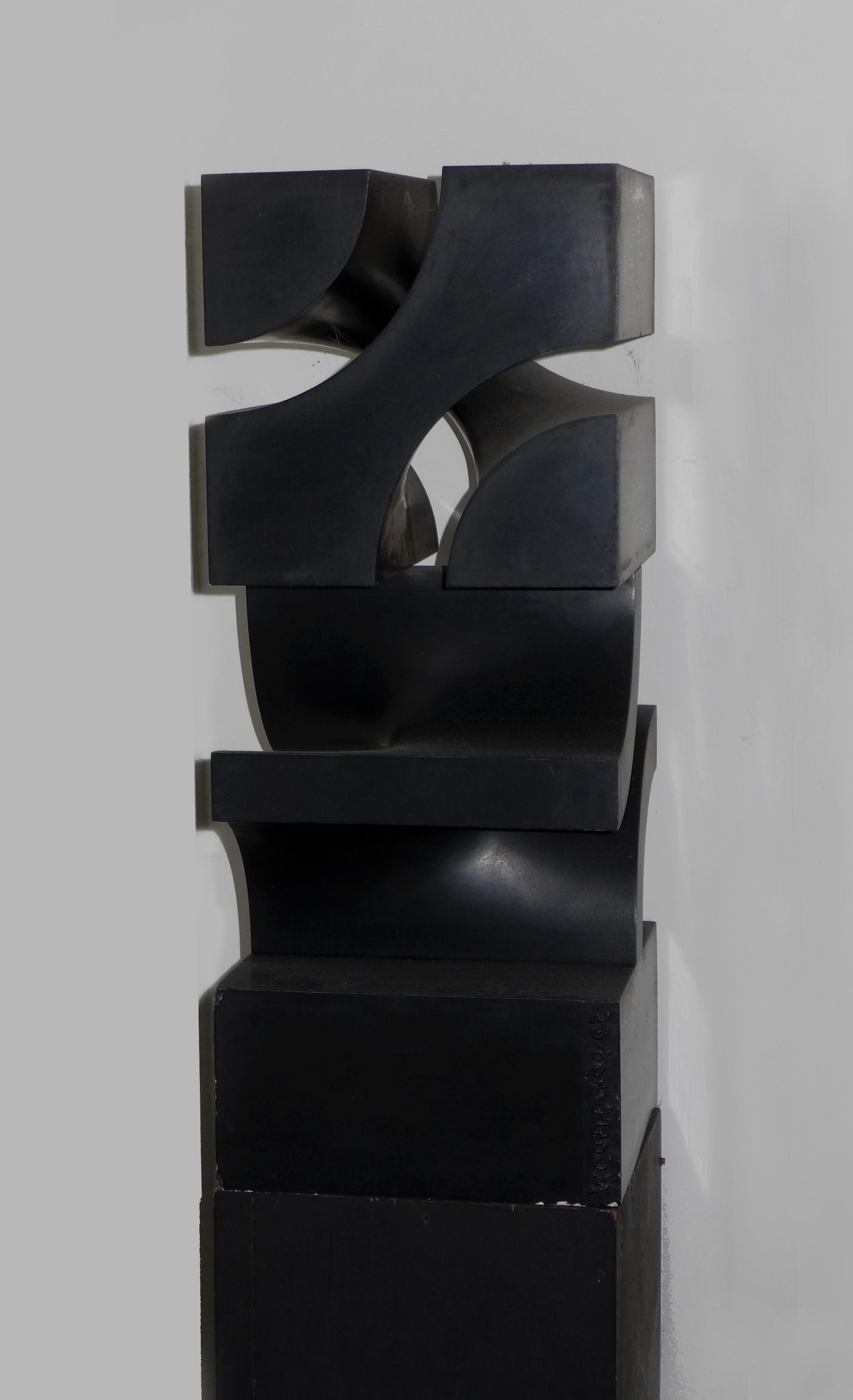 Norman Carlberg, Untitled, 1960, cast metal, 24x10x10
