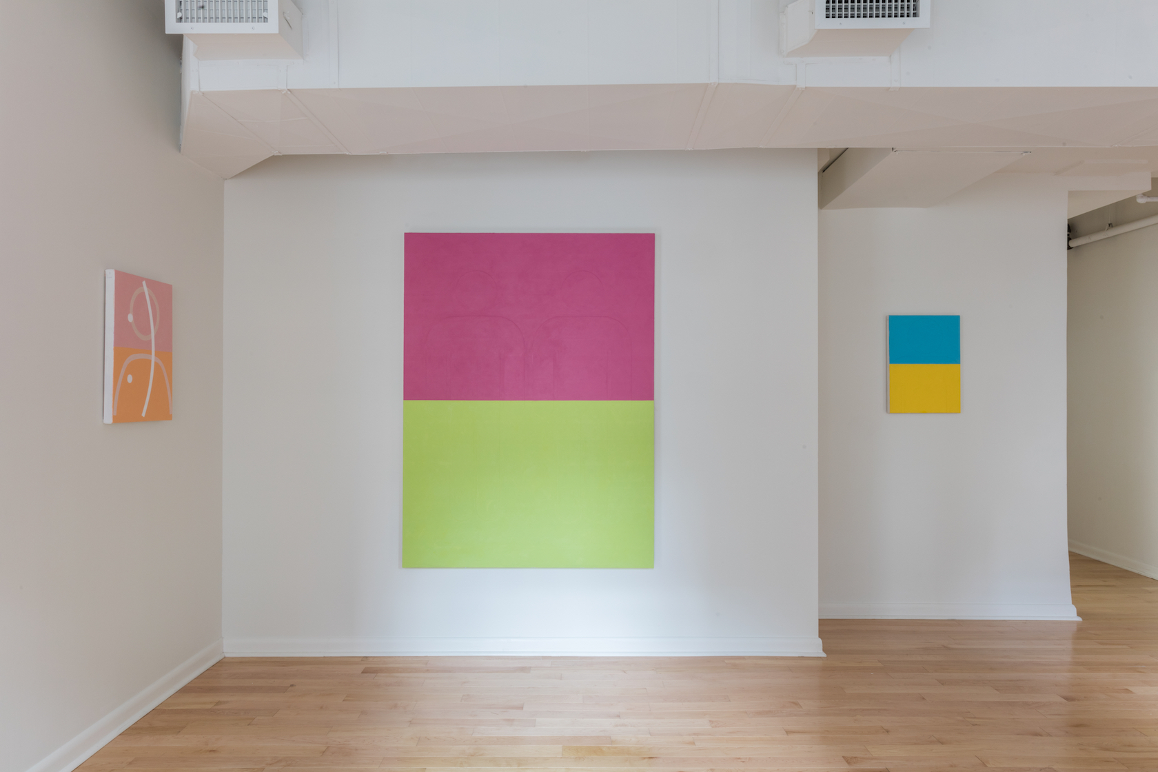 ANDY SPENCE ,  Friends and Places , Main Gallery Installation View