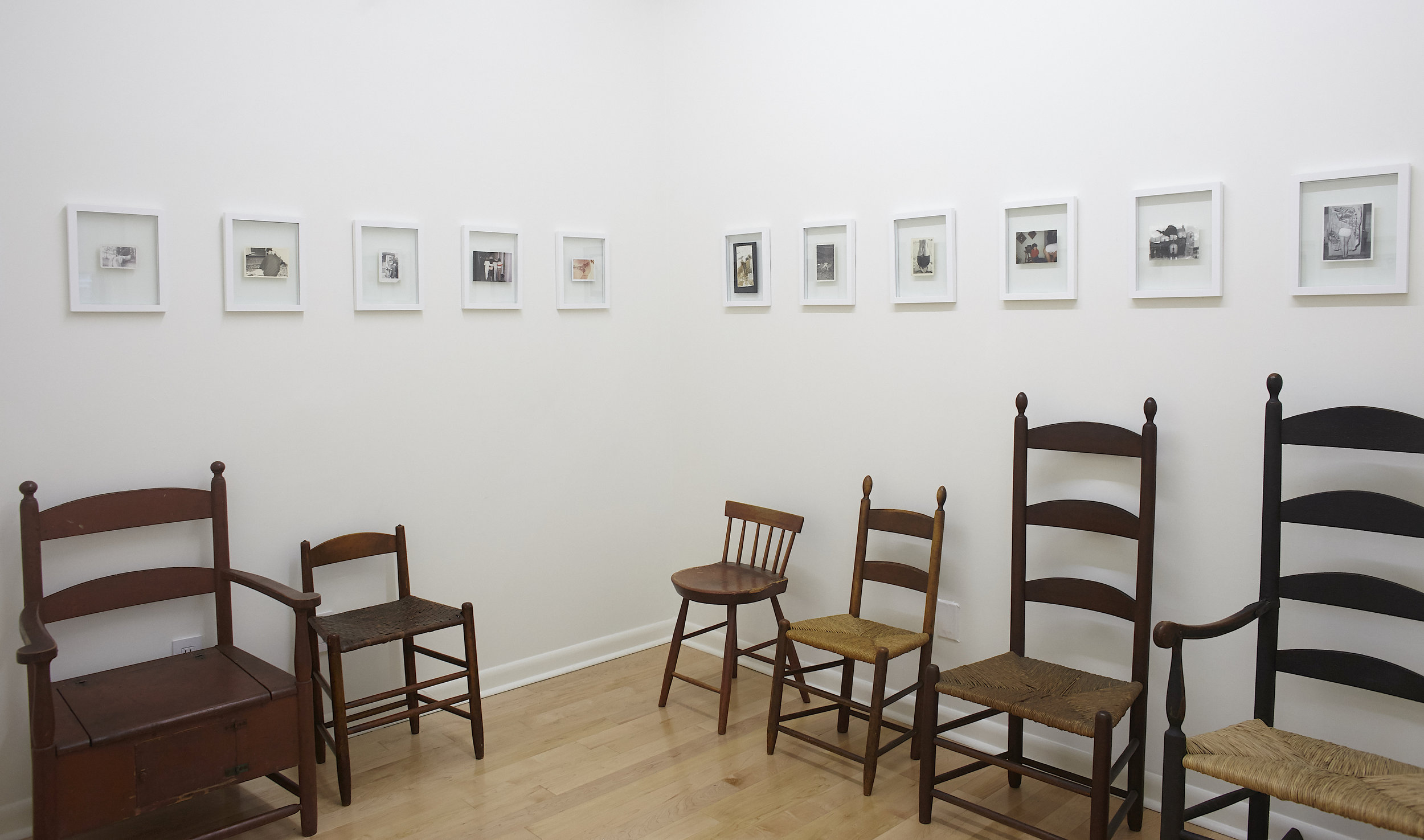 JOHN PHELAN ,  Seats and Chairs , Project Space Installation View
