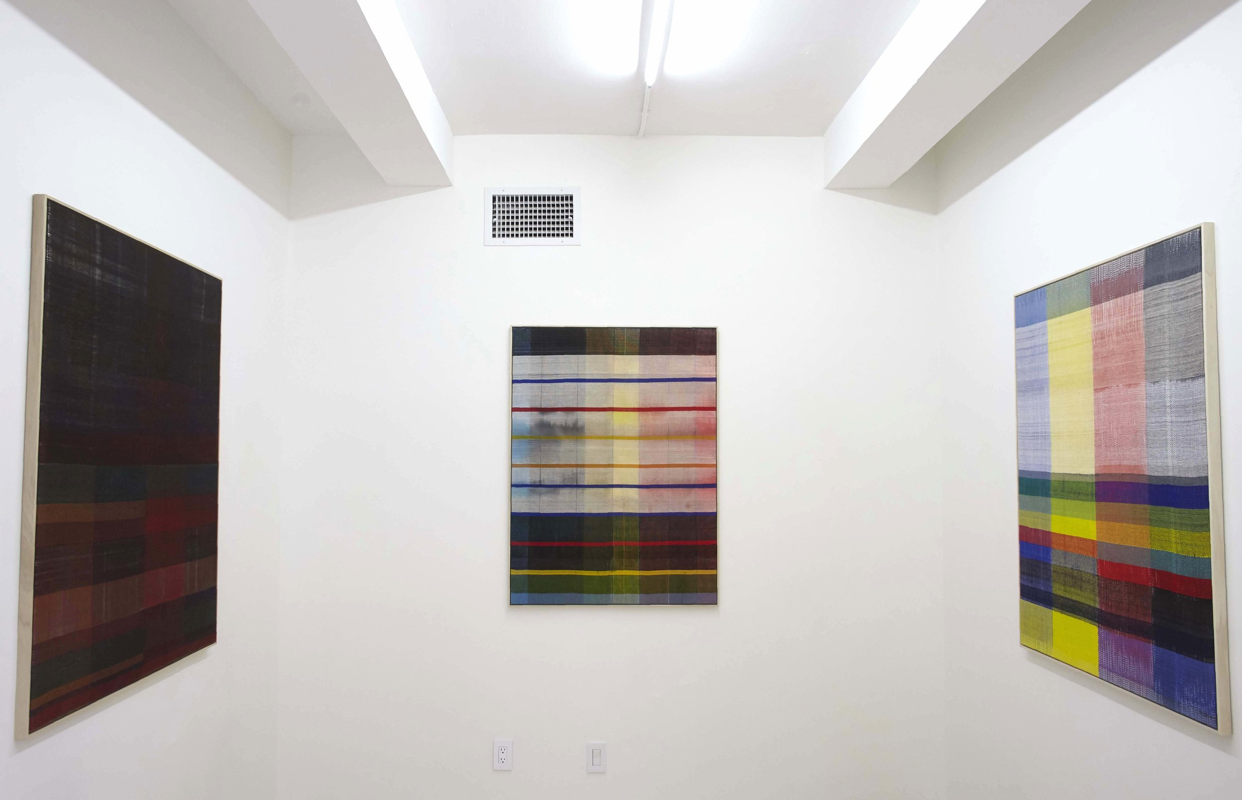 SKY GLABUSH ,  Surfacing , Project Space Installation View
