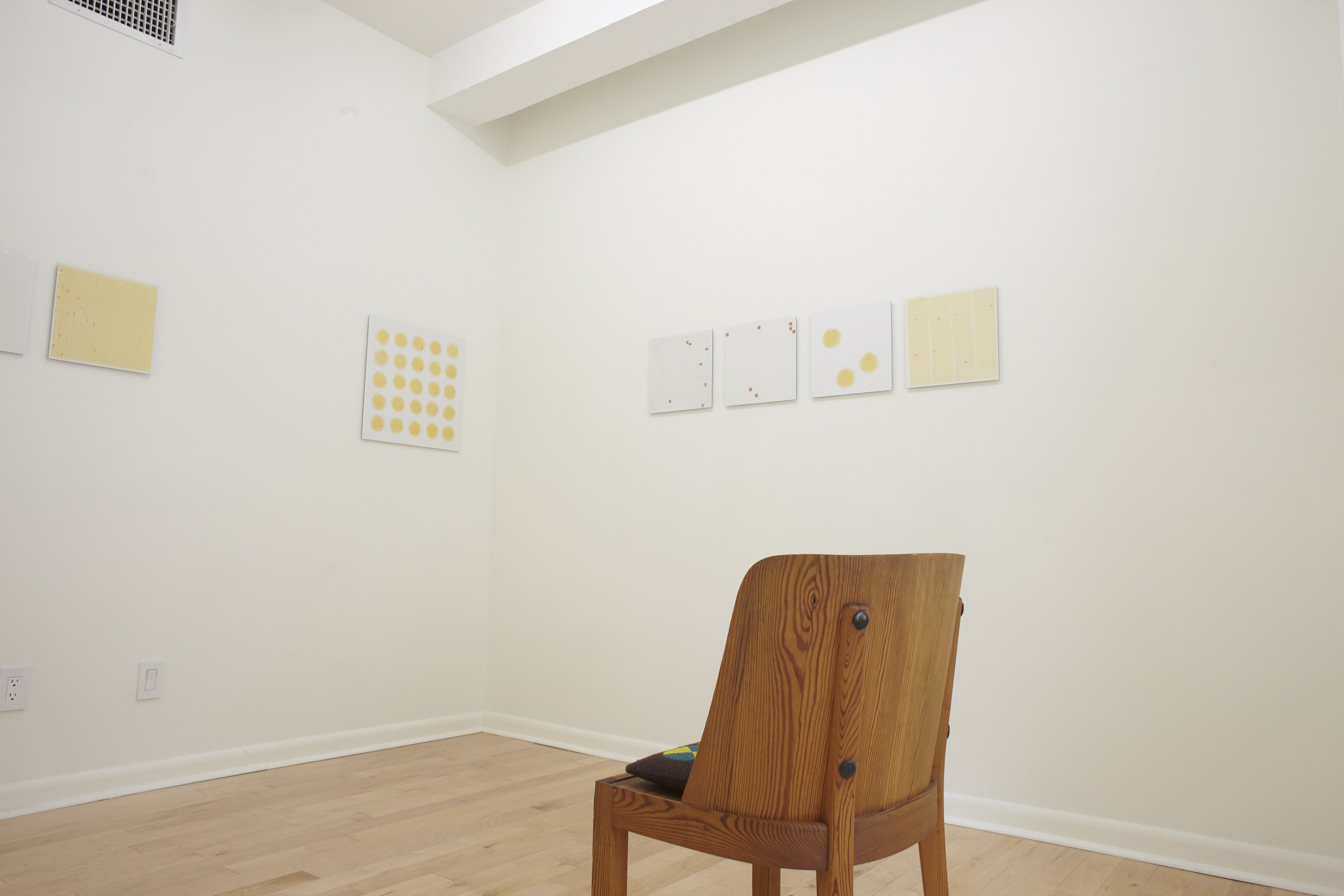 Daniel Wenk ,  Recent Tapings,  Project Space Installation View