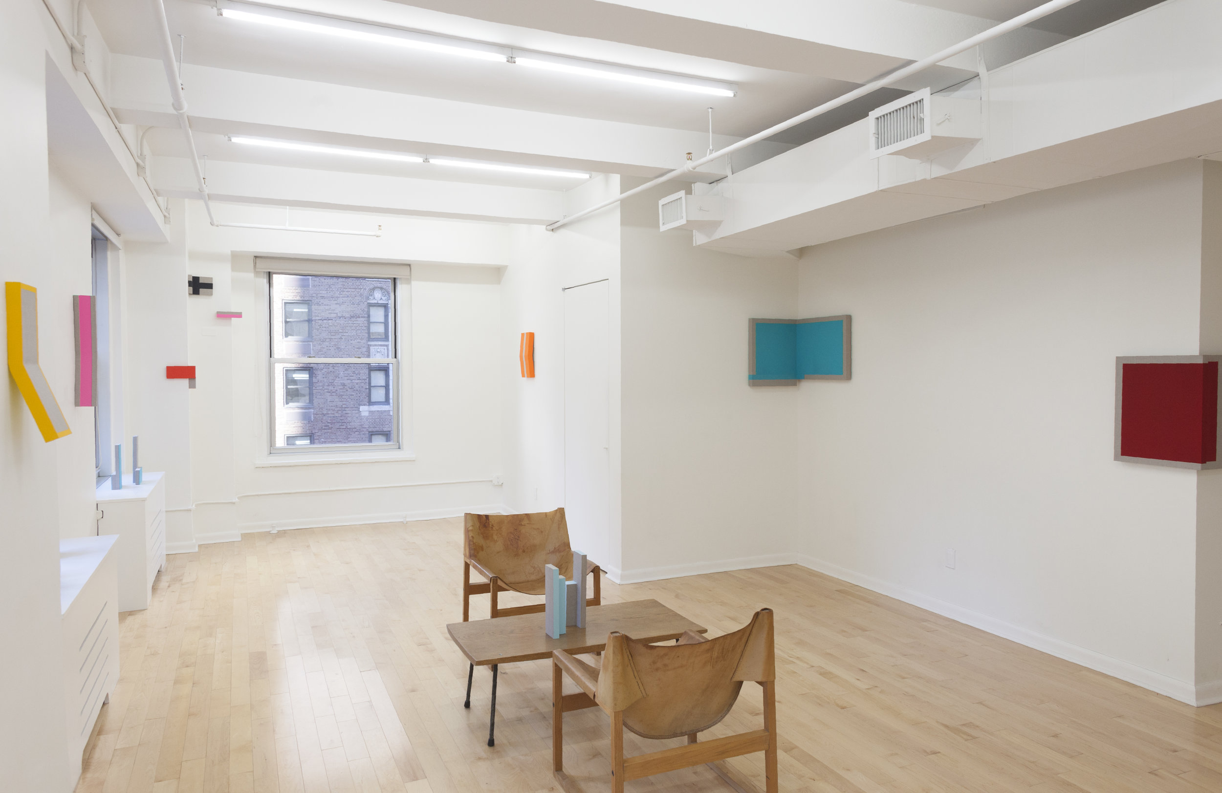 Louise Blyton ,  Butterflymilk NYC , Main Gallery Installation View