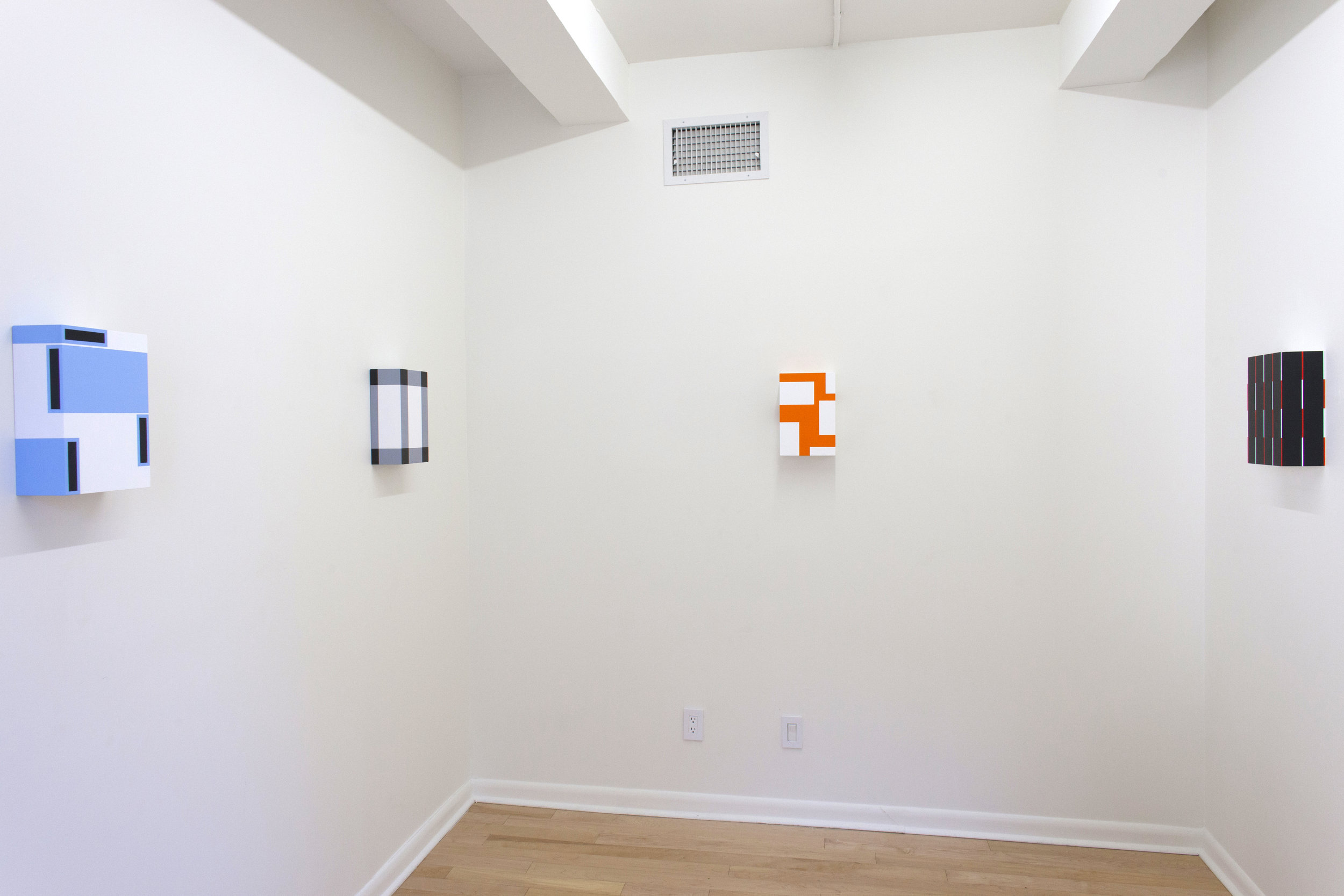 Richard Roth ,  Close Call , Project Space Installation View