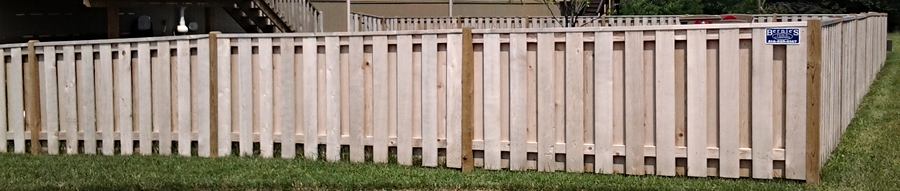 Residential Wood Fencing