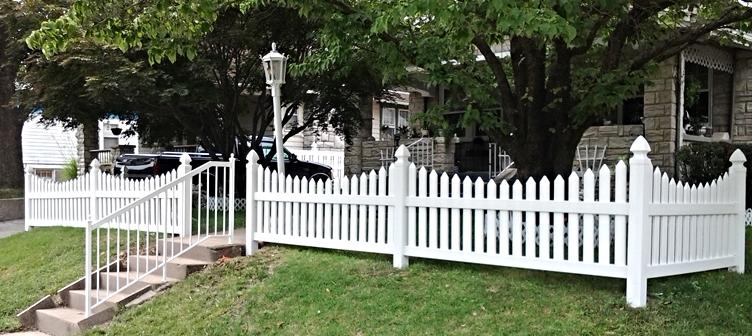 vinyl fence for yard