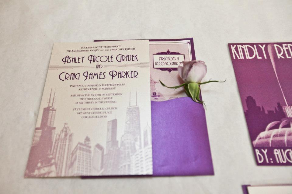 Chicago Wedding Invitation