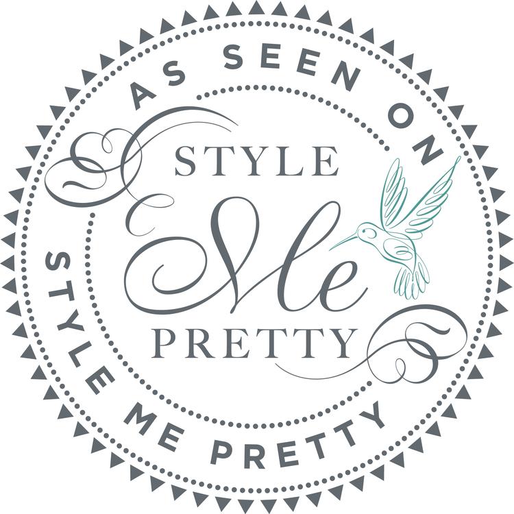 As Seen On Style Me Pretty Logo