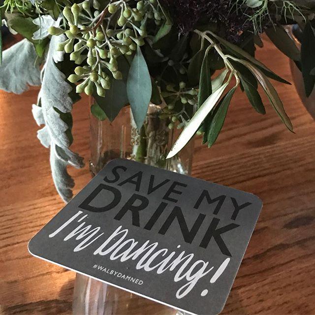 The back of the coasters!  #walbydamned #industrialwedding #ashleyparkercreative #wedding #modernwedding #weddingdecor #weddingday #weddingcoasters #weddingdetails #realwedding