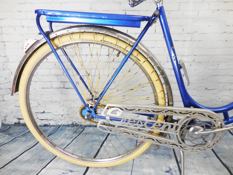 1 metre loom Brake Bike Gloss Blue Vintage Bike