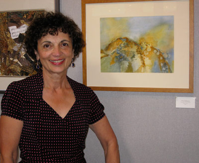 My painting at Wickford Art Association