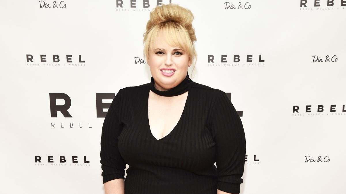 Fashion presentation at the Rebel Wilson x Angels launch party.