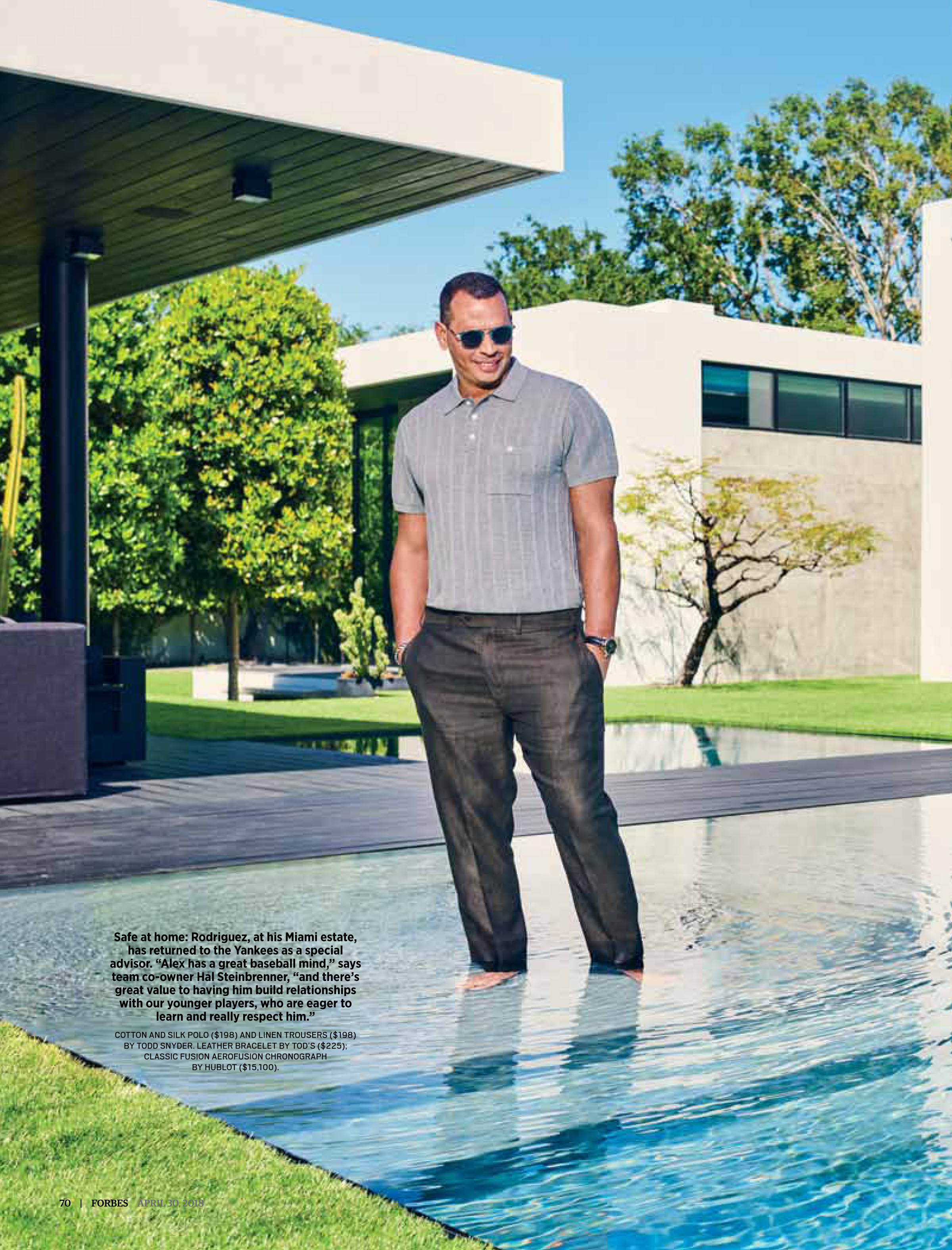 A-Rod In Paradise