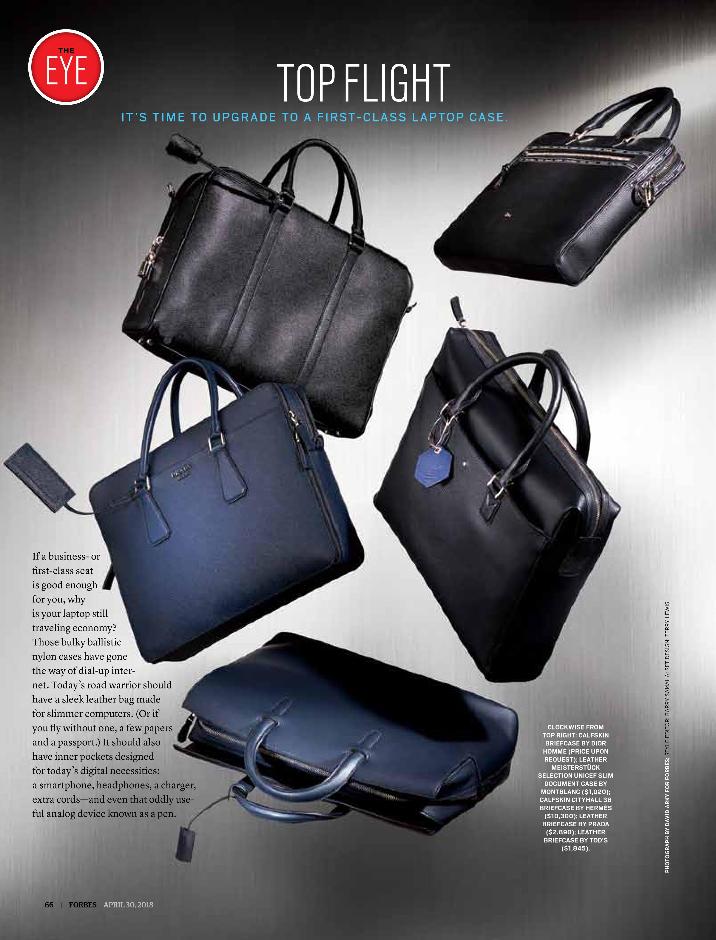 Top Flight: First Class Laptop Bags