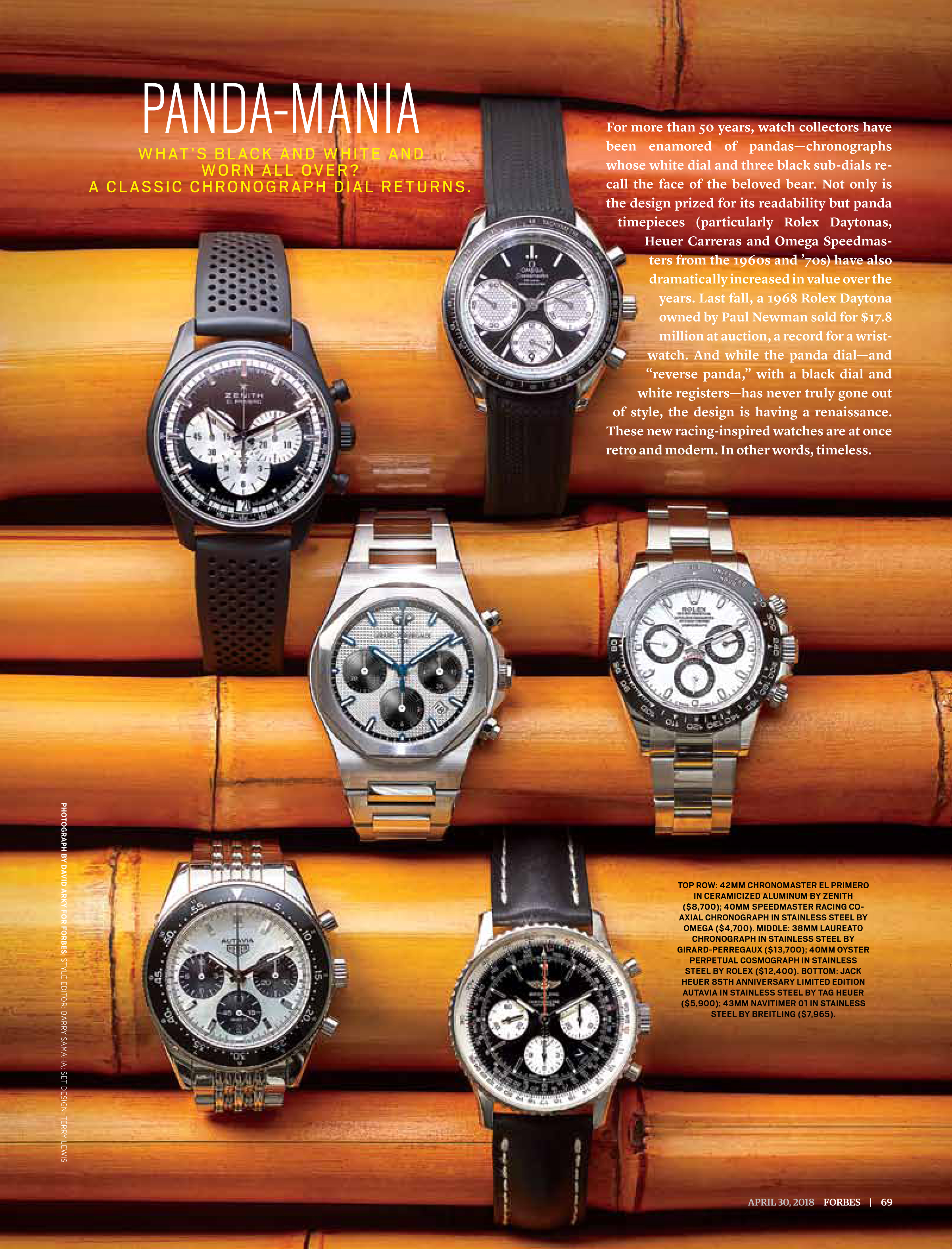 Panda-Mania: The Best Panda Dial Watches for 2018