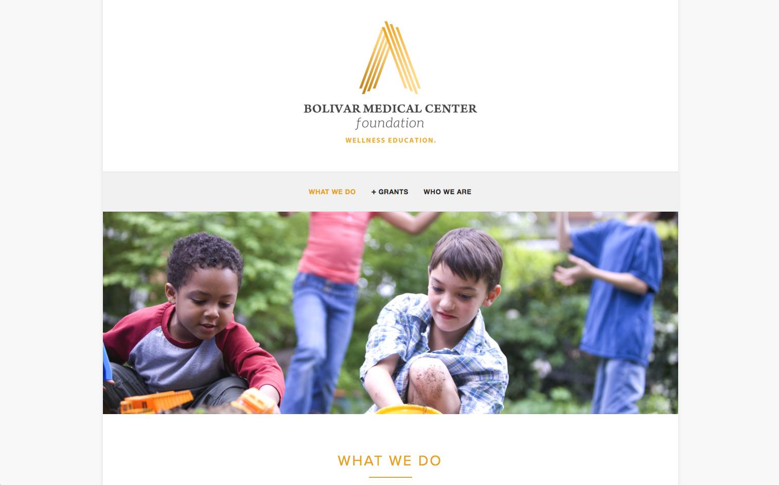Bolivar Medical Center Foundation   http://www.bolivarmedicalcenterfoundation.com
