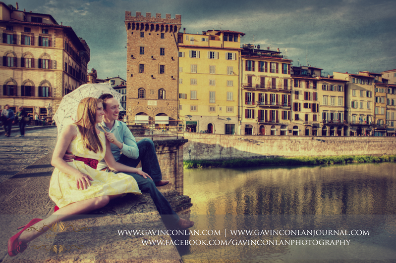 lorence, Italy engagement photography by  gavin conlan photography Ltd
