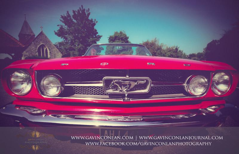 Mustang Dream Weddings wedding and bridal photo shoot in Essex by gavin conlan photography Ltd