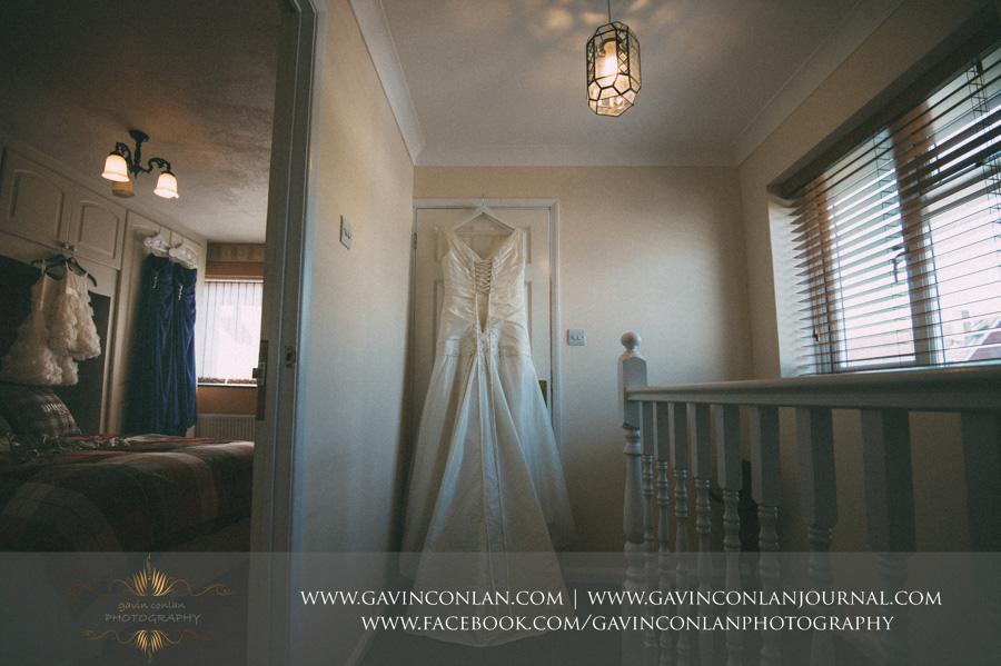bride, bridesmaids and flower girl wedding dresses.Wedding photography by gavin conlan photography Ltd