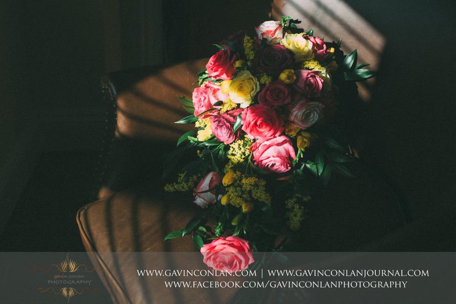 bridal bouquet.Wedding photography by gavin conlan photography Ltd