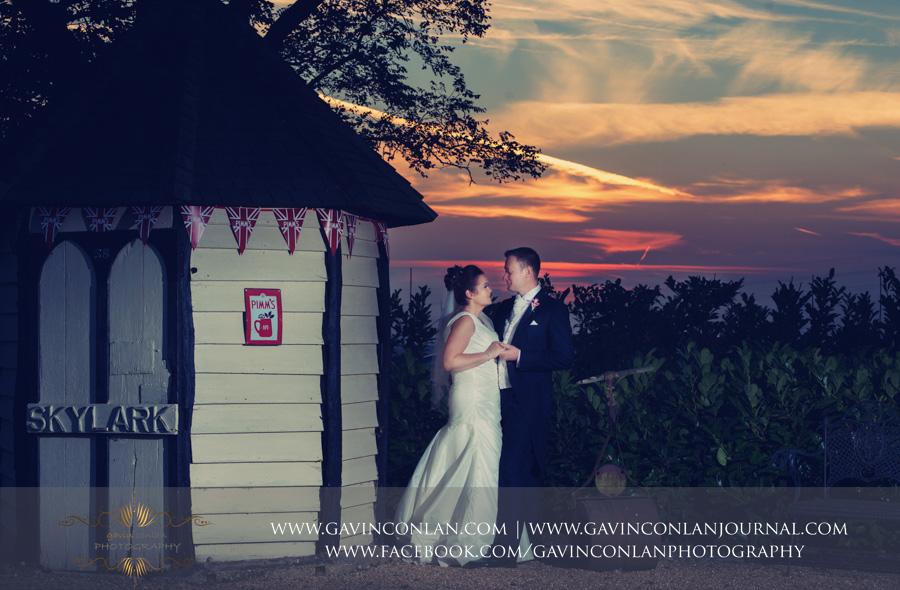 bride and groom portrait.Wedding photography at Moor Hall Venue by gavin conlan photography Ltd