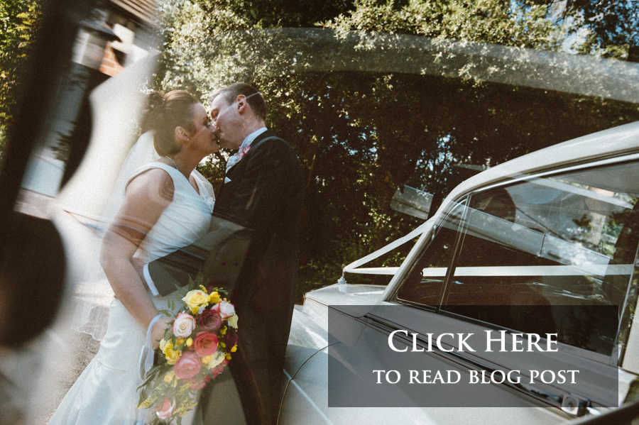 The link to Sarah and Mark's wedding day blog post