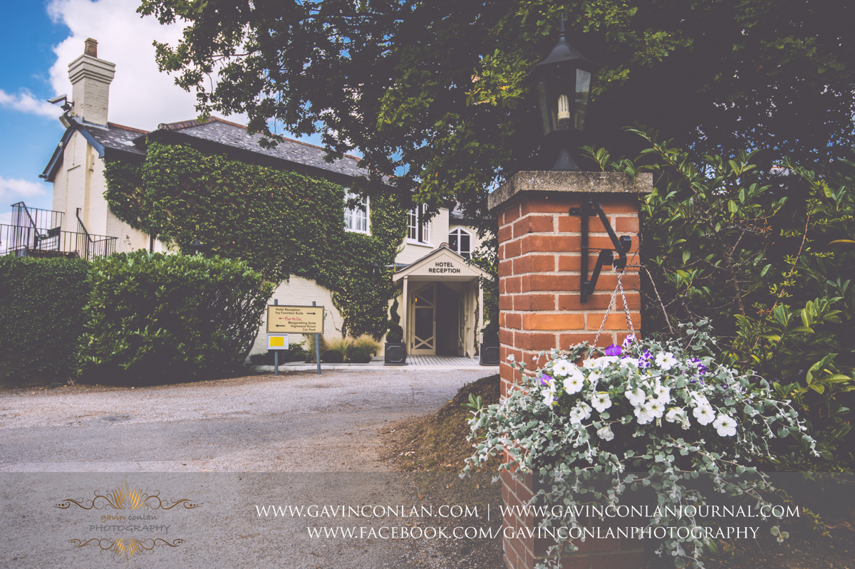 photograph of the exterior of the Best Western Ivy Hill Hotel. Wedding photography at  Best Western Ivy Hill Hotel  by  gavin conlan photography Ltd