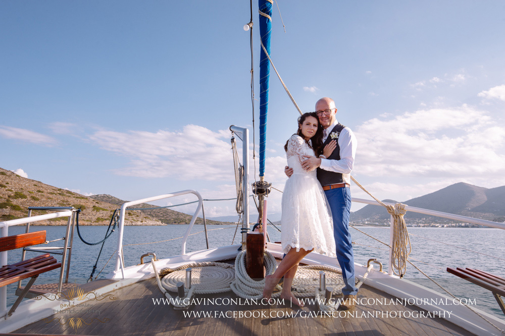 Greece Wedding photography at the  Blue Palace, a Luxury Collection Resort and Spa  in Crete by  gavin conlan photography Ltd