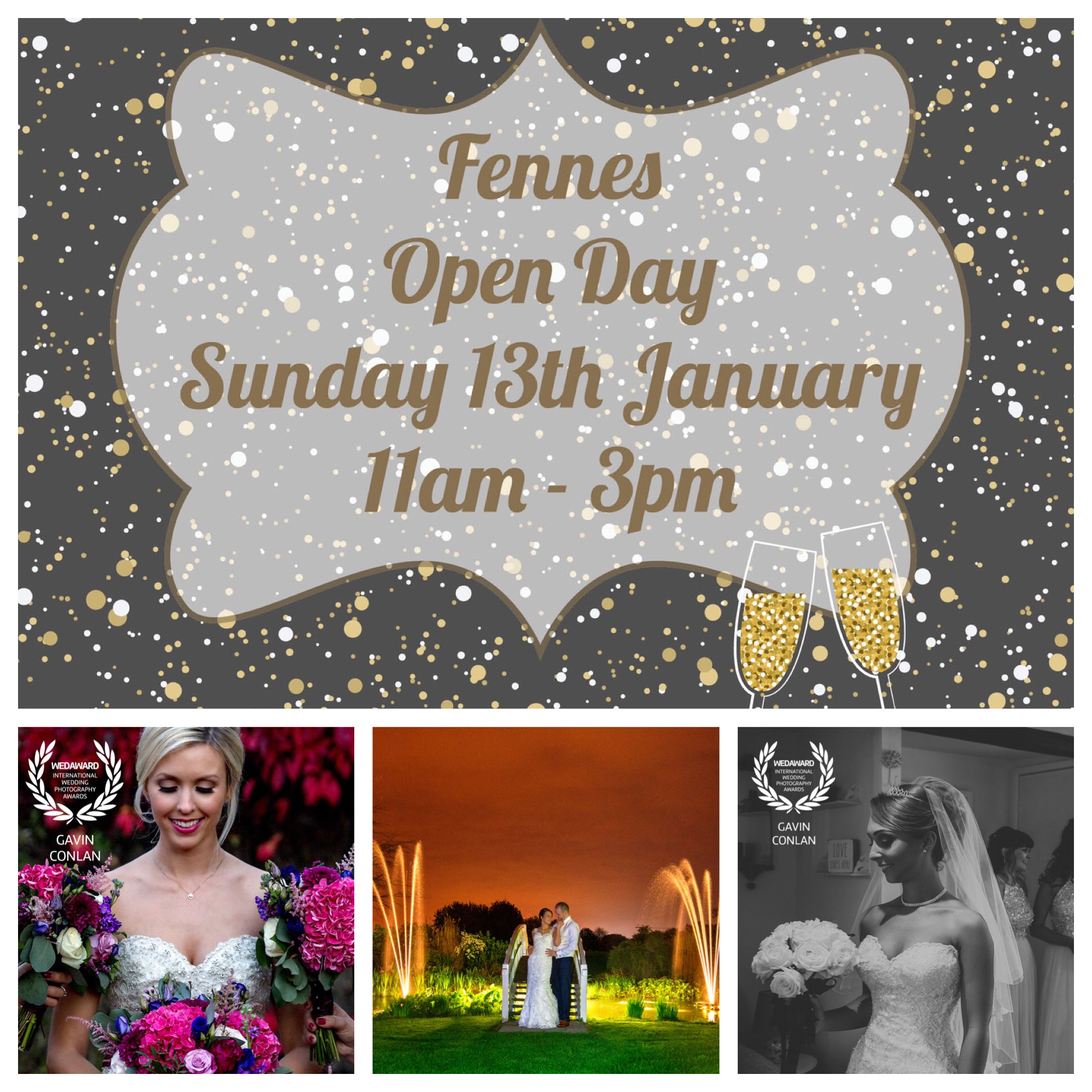 The Fennes Wedding Open Day