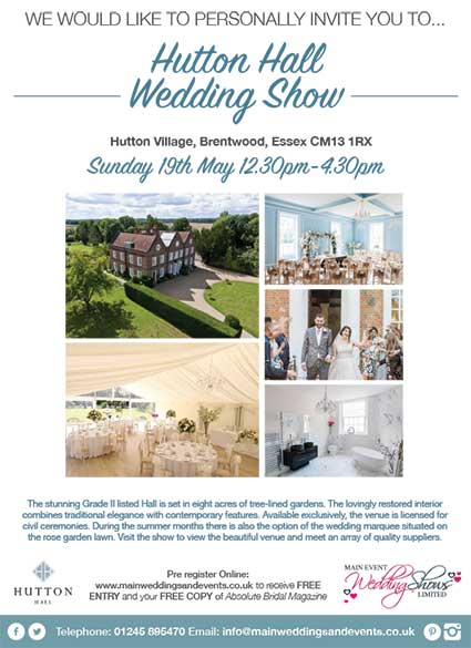 hutton-hall-wedding-show-may-2019