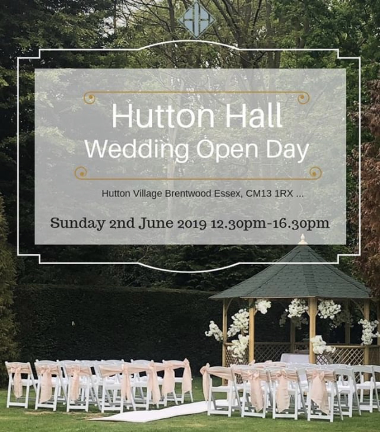 gavin conlan photography has been proudly invited to exhibit this Sunday at the exclusive Essex based wedding venue Hutton Hall. The Wedding Open Day starts at 12:30Pm and finishes at 16:30PM.